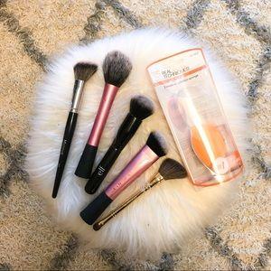 Makeup Brush Sponge Bundle Set Tools